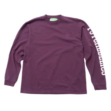 Mister Green Psychedelics Pro Heavyweight L/S Tee (Purple)