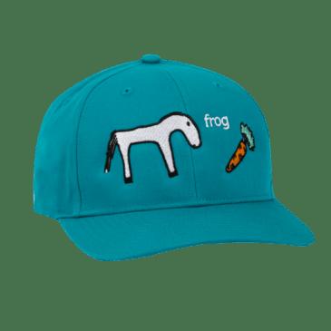Frog Skateboards Horse Hat - Teal