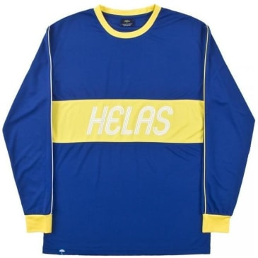 Hélas Diego Long Sleeve Jersey - Blue / Yellow
