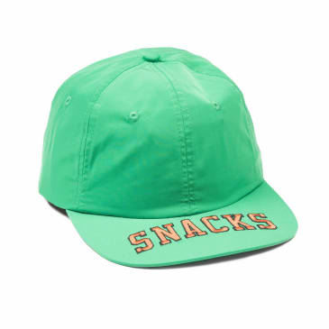 Quartersnacks SNACKS Cap - Green Nylon