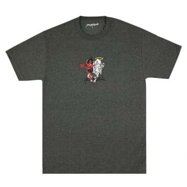Yardsale Heaven and Hell T-Shirt - Charcoal Heather
