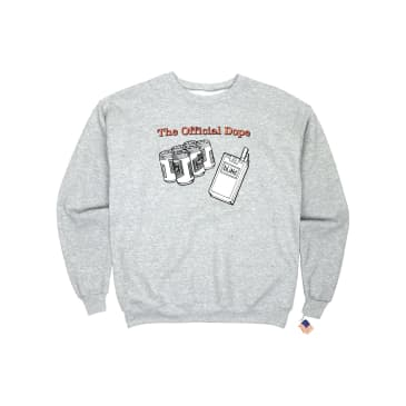Dear Skating - Official Dope Crewneck - Heather Grey