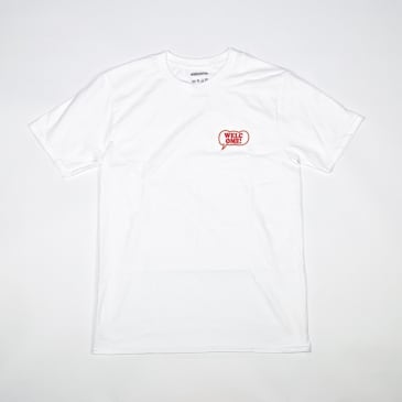 Welcome Skate Store - Freak Out T-Shirt - White