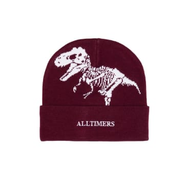 Alltimers NH Beanie - Burgundy