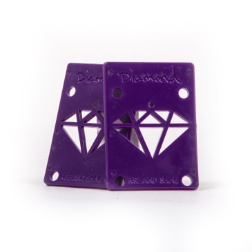 "Diamond Supply Co. Risers 1/8"" - Purple"
