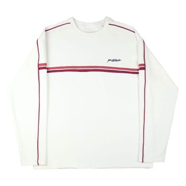 """Yardsale """"Pacific Ribbed"""" Crewneck (Off white)"""