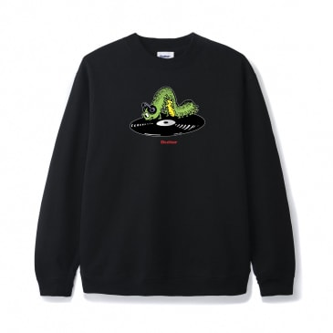 Butter Goods Selector Crewneck - Black