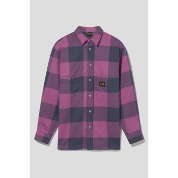 Stan Ray - Flannel Shirt (Crushed Purple Check)
