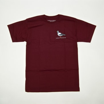 Anti Hero Skateboards - Lil Pigeon T-Shirt - Burgundy