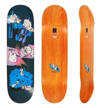 """Polar Skate Co. Oskar Rozenberg Night Bender Slick Skateboard Deck 8.25"""""""