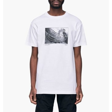 Traffic Skateboards x Nocturnal Oyola T-Shirt - White