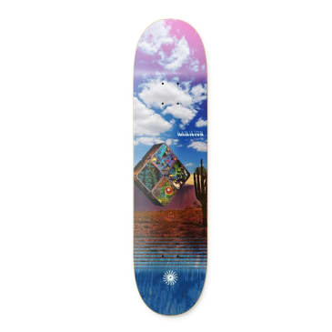 "Primitive Skateboarding - 8.125"" Spencer Hamilton Bento Deck - Blue"