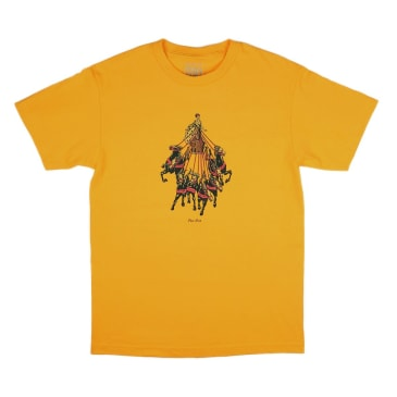 Passport Skateboards - State Horses Tee (Gold)