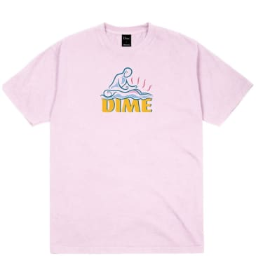 Dime Relief T-Shirt - Light Pink