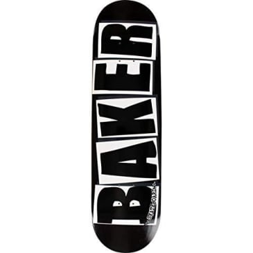 Baker Logo Deck Black/White 8.125