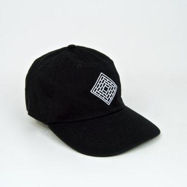 The National Skateboard Co. - Classic 6 Panel Cap - Black