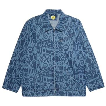 Iggy NYC - Icons Demin Jacket - Multi Blue