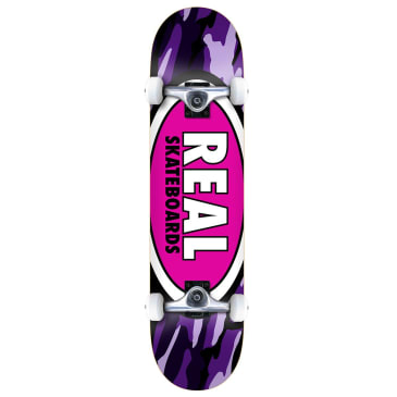 Real Complete - Oval Camo 8""