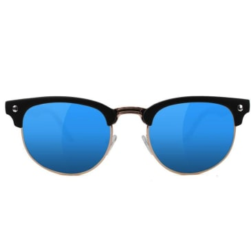Glassy - Glassy Morrison Polarized Sunglasses | Black & Blue