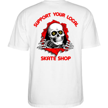 POWELL PERALTA SYLSS Ripper Tee White