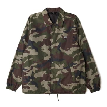 Obey Core Coaches Jacket - Field Camo