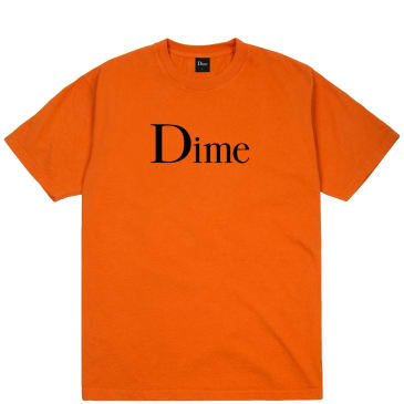 Dime Classic T-Shirt - Burnt Orange