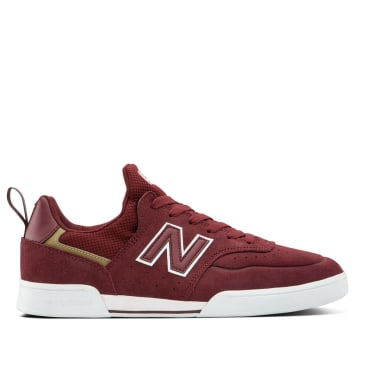 New Balance Numeric 288 Sport Skate Shoes - Burgundy / Grey