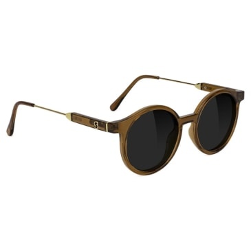 Glassy - Robyn Polarized Sunglasses - Coffee
