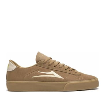 Lakai Newport Suede Skate Shoes - Tan / Gum