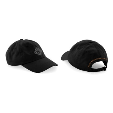 The National Skateboard Co. Classic 6-Panel Cap - Black