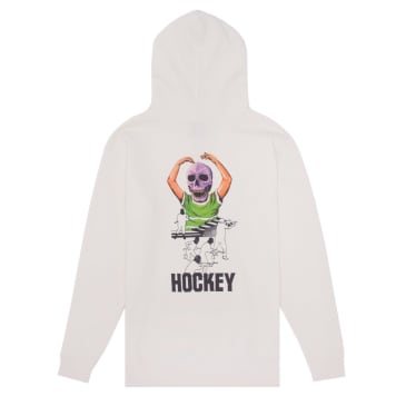 Hockey Skull Kid Hood - Bone