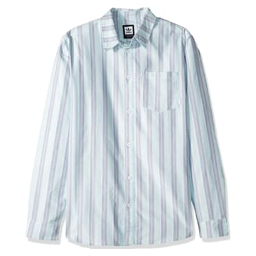 adidas Holgate Shirt - Clear Mint / Raw White / Raw Grey