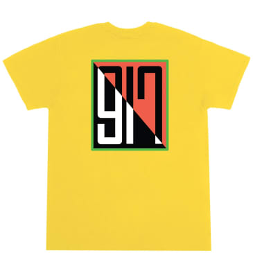 Call Me 917 Split T-Shirt - Yellow