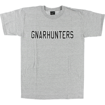 Gnarhunters - College Outline SS Grey L