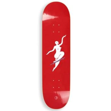 """Polar Skate Co Team Deck No Compy Red 8.25"""""""
