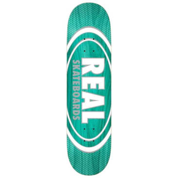 """Real- Oval Deck 8.75"""" Teal"""