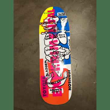 Blind Skateboards Johnson Experiment Deck 9.875