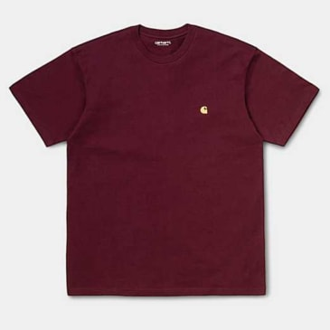 Carhartt WIP - Chase T-shirt - Bordeaux