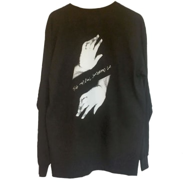 The National Skateboard Co. Hands Long Sleeve T-Shirt (Black)