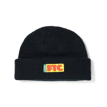 Butter Goods FTC Flag Wharfie Beanie - Black