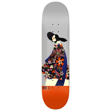 Real Davis x Willian Santiago Skateboard Deck - 8.06""