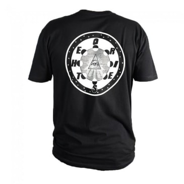 Theories Of Atlantis Morning Star T-Shirt - Black / White