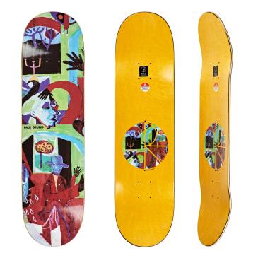 "Polar Skate Co Paul Grund Moth House Skateboard Deck - 8.375"""