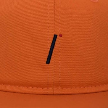 Isle Skateboards - i logo 6 panel Orange