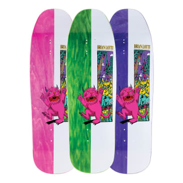 Welcome Skateboards Brian Lotti Wild Thing on Gaia Skateboard Deck - 9.6""
