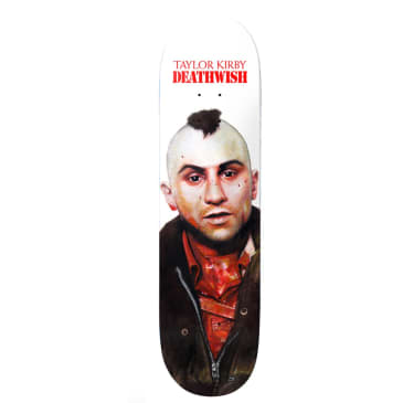 Deathwish Taylor Kirby You Talkin to Me? Skateboard Deck - 8.25