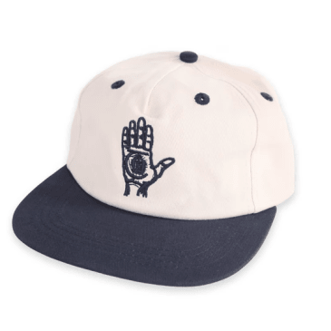 Theories Of Atlantis - Hand Of Theories Strapback Cap - Cream / Navy
