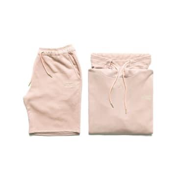 Chrystie NYC Garment Dye Classic Logo Set - Pale Pink