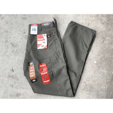 Dickies Carpenter Pants Army Green Regular Fit