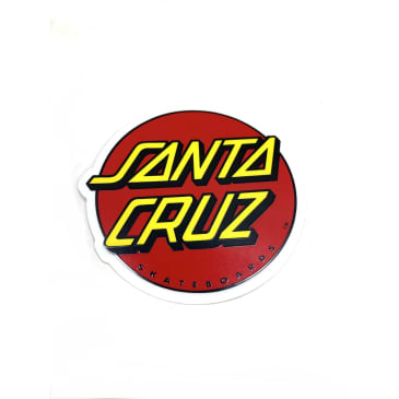 Santa Cruz Skateboards Circle Logo Sticker